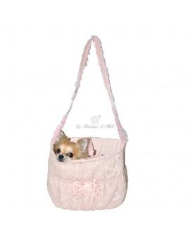 Grace Graciola Peach Lace Bag