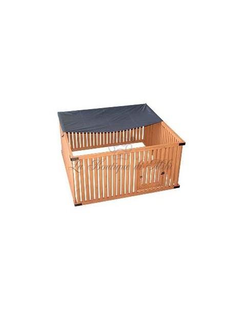 Recinto Box Wood Run Square