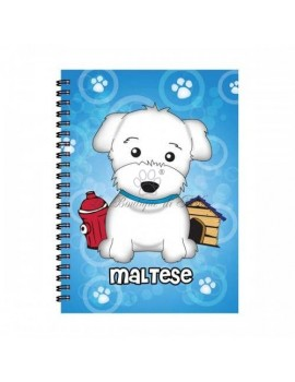 Notebook Boy Maltese