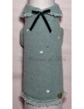 Grace Graciola Heart In Gray Pull