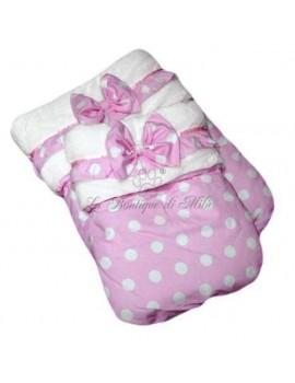 Sacco Nanna Pink Princess Winter