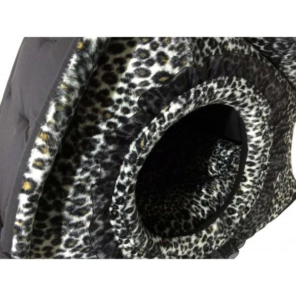 Cuccia a Casetta Chouette Noir