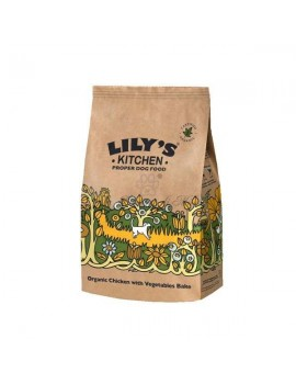 Lily's Kitchen Cane: Pollo Biologico e Verdura Cotti al Forno